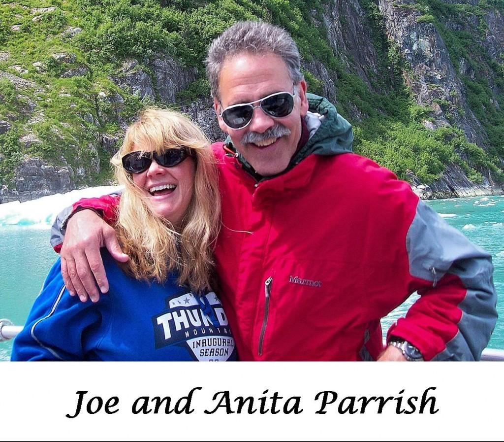 joe and anita outdoors - website